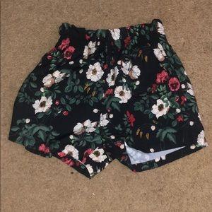 high raised shorts